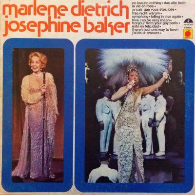 Marlene Dietrich, Josephine Baker - Dietrich & Baker