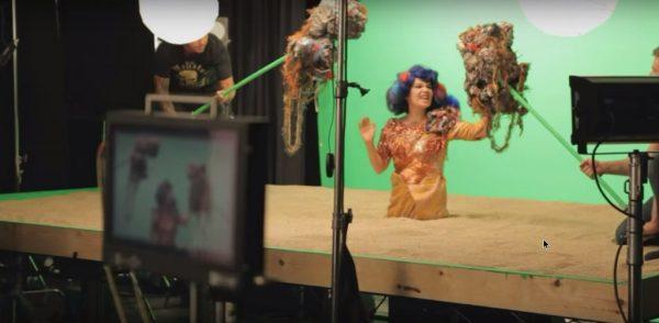 Björk - Mutual Core (Behind The Scenes)