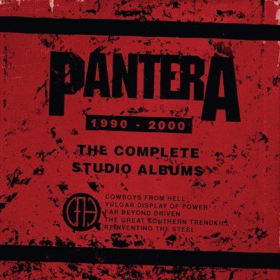 Pantera - The Complete Studio Albums 1990-2000 (Box)