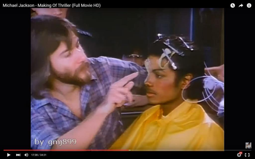 Michael Jackson - Thriller (Behind The Scenes)