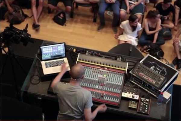 Paul Kalkbrenner - Workshop Montreux Jazz Festival 2013 (Performance)