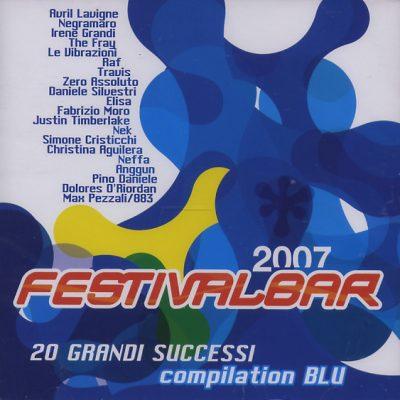 Festivalbar 2007 - Compilation Blu