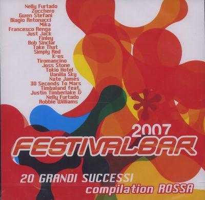 Festivalbar 2007 - Compilation Rossa
