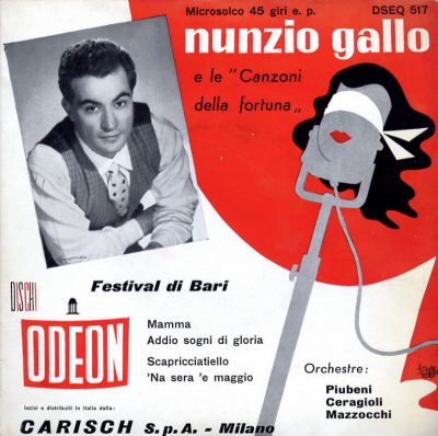 Nunzio Gallo - E le Canzoni della Fortuna