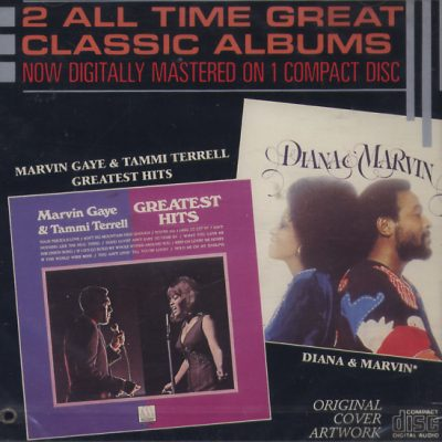 Marvin Gaye - Tammi Terrell - Diana Ross - 2 All Time Great Classic Albums