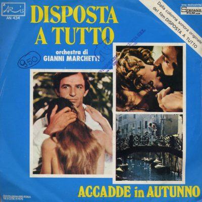 Orchestra Gianni Marchetti - Disposta a tutto