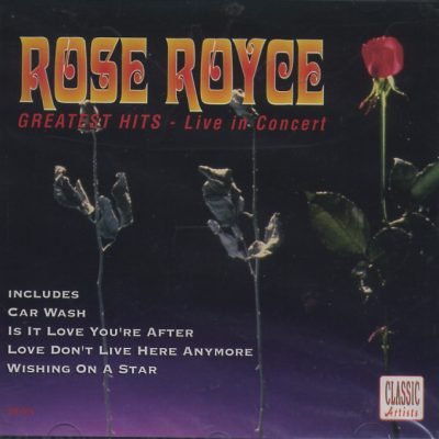 Rose Royce - Greatest Hits - Live in Concert