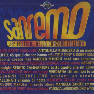 Sanremo - 53° Festival della Canzone Italiana