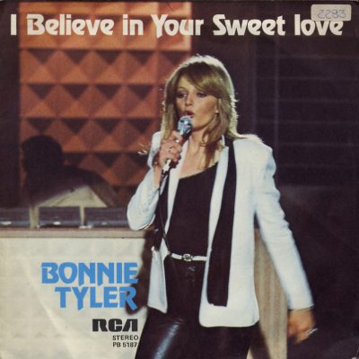 Bonnie Tyler - I believe in you sweet love