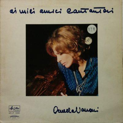 Ornella Vanoni - Ai miei amici cantautori