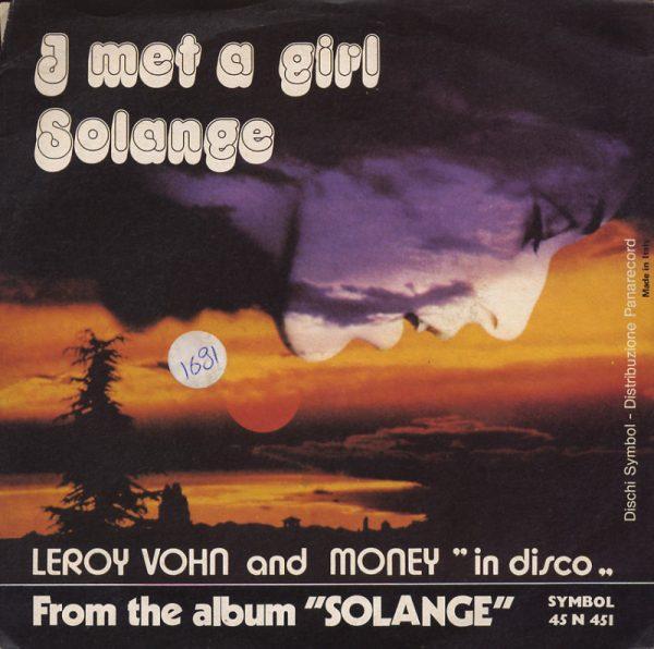 Leroy Vohn - I Met A Girl