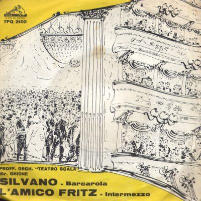 Pietro Mascagni - Silvano - L'amico Fritz