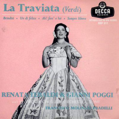 Giuseppe Verdi - La Traviata (Renata Tebaldi & Gianni Poggi)