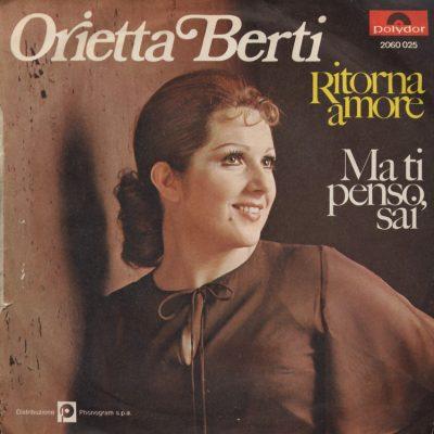 Orietta Berti - Ritorna amore