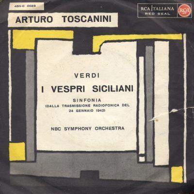 Arturo Toscanini - I vespri siciliani