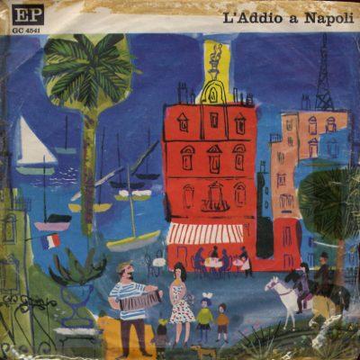 Inez Cavallario - Orchestrina Carmelita - L'addio a Napoli