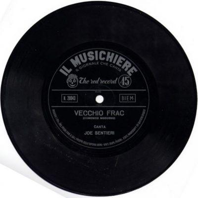 Joe Sentieri - Vecchio Frac (Il Musichiere)