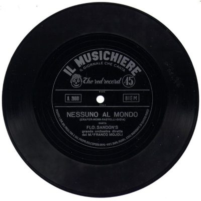 Flo Sandon's - Nessuno al mondo (Il Musichiere)
