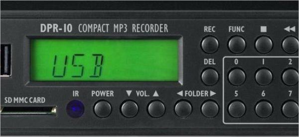 Compact MP3 Recorder DPR-10 (Tools)