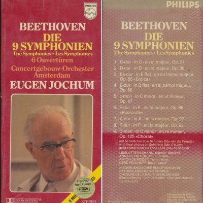 Beethoven Die 9 Symphonien - Dir. Eugene Jochum