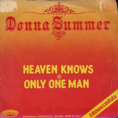 Donna Summer - Heaven knows