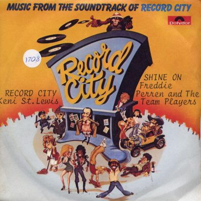 Keni St.Lewis / Freddie Perren and The Team Players - Record City