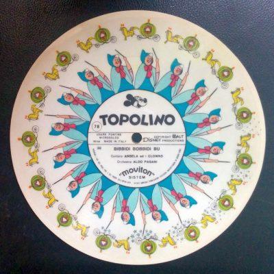 Orchestra Aldo Pagani - Moviton: Topolino / Bibbidi Bobbidi Bu