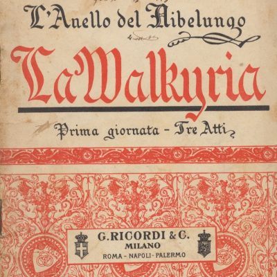 La Walkiria - Richard Wagner (Libretto)