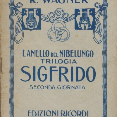 Sigfrido - Richard Wagner (Libretto)