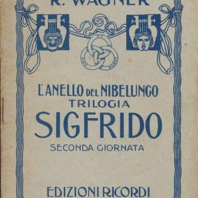 Sigfrido - Richard Wagner (Libretto)