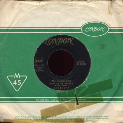 Pat Boone - The Exodus song