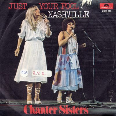 Chanter Sisters - Just your fool