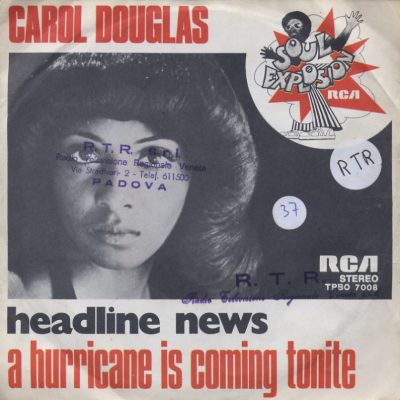 Carol Douglas - Headline news