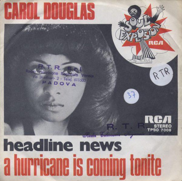 Carol Douglas - Headline news