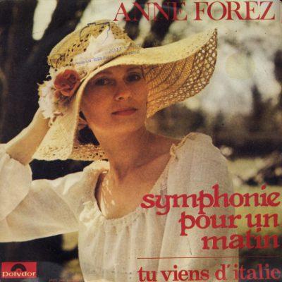 Anne Forez - Symphonie pur un matin