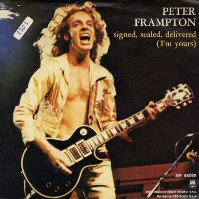 Peter Frampton - Signed, sealed, delivered (I'm yours)