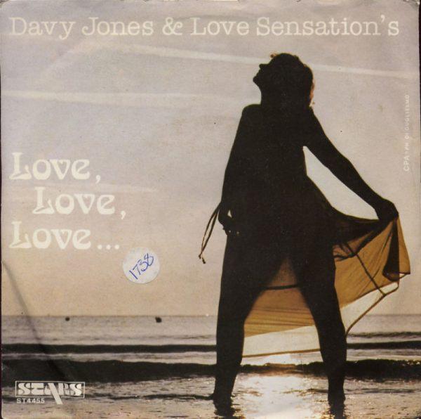 Davy Jones & Love Sensation's - Love love love
