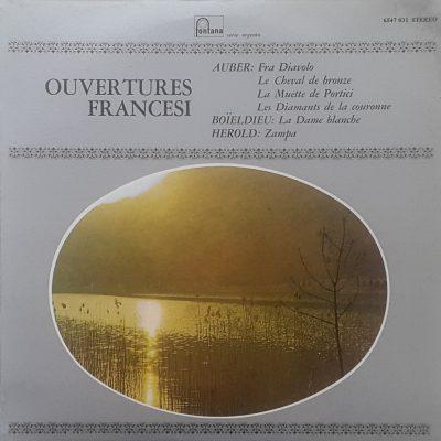 Ouvertures Francesi (Aubier - Boieldieu - Herold)