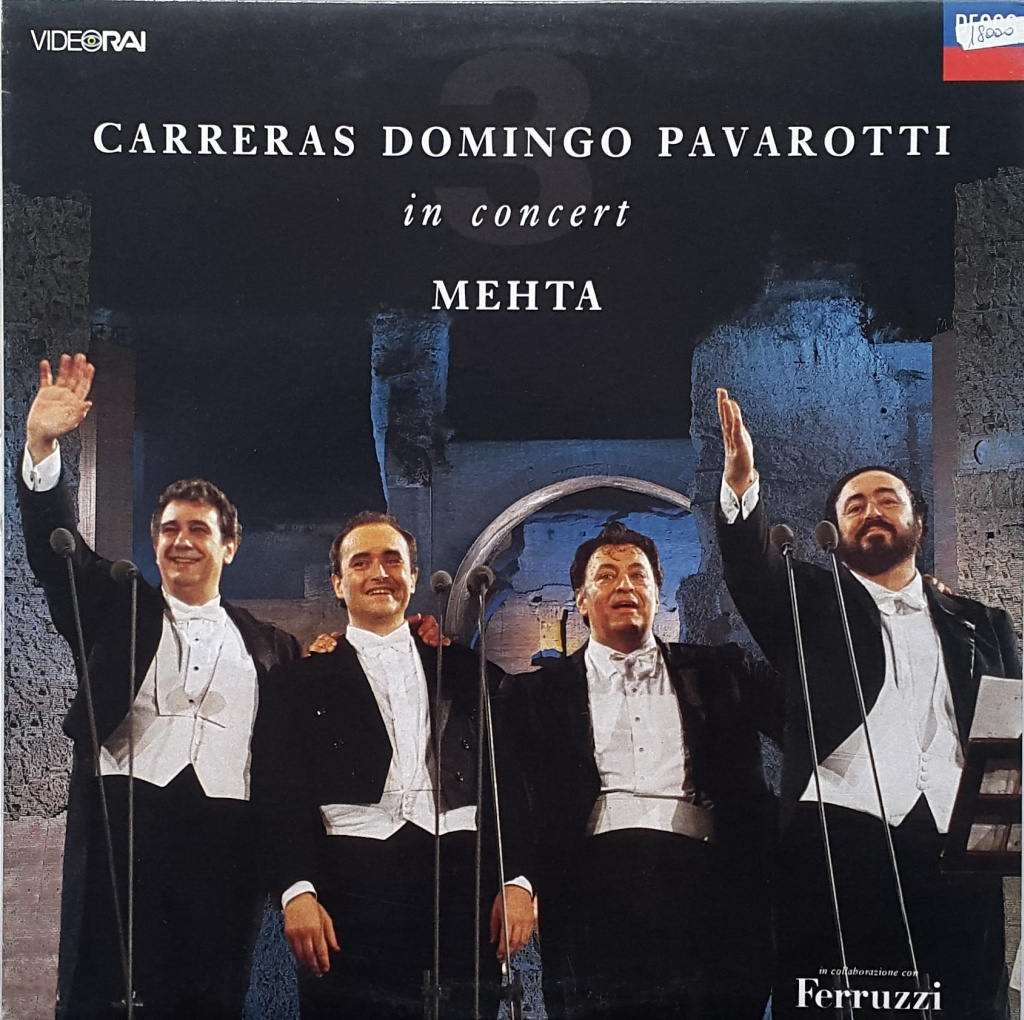 Carreras Domingo Pavarotti in Concert - Mehta