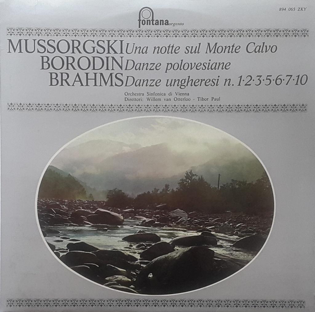 Modesto Mussorgski - Alexander Borodin - Johannes Brahms