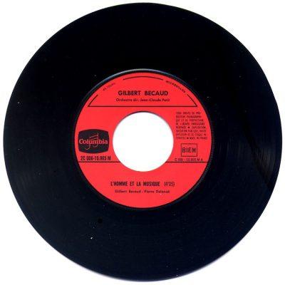 Gilbert Becaud - L'homme et la musique