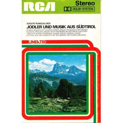 Adolfo Runggalder - Jodler und musik aus Sudtirol (SOLO COPERTINA / COVER ONLY)
