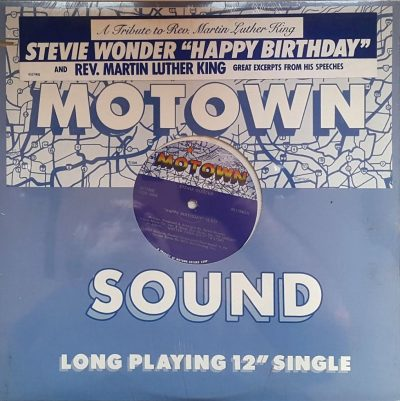 Stevie Wonder and Rev. Martin Luther King - Happy Birthday. A Tribute to Rev. Martin Luther King
