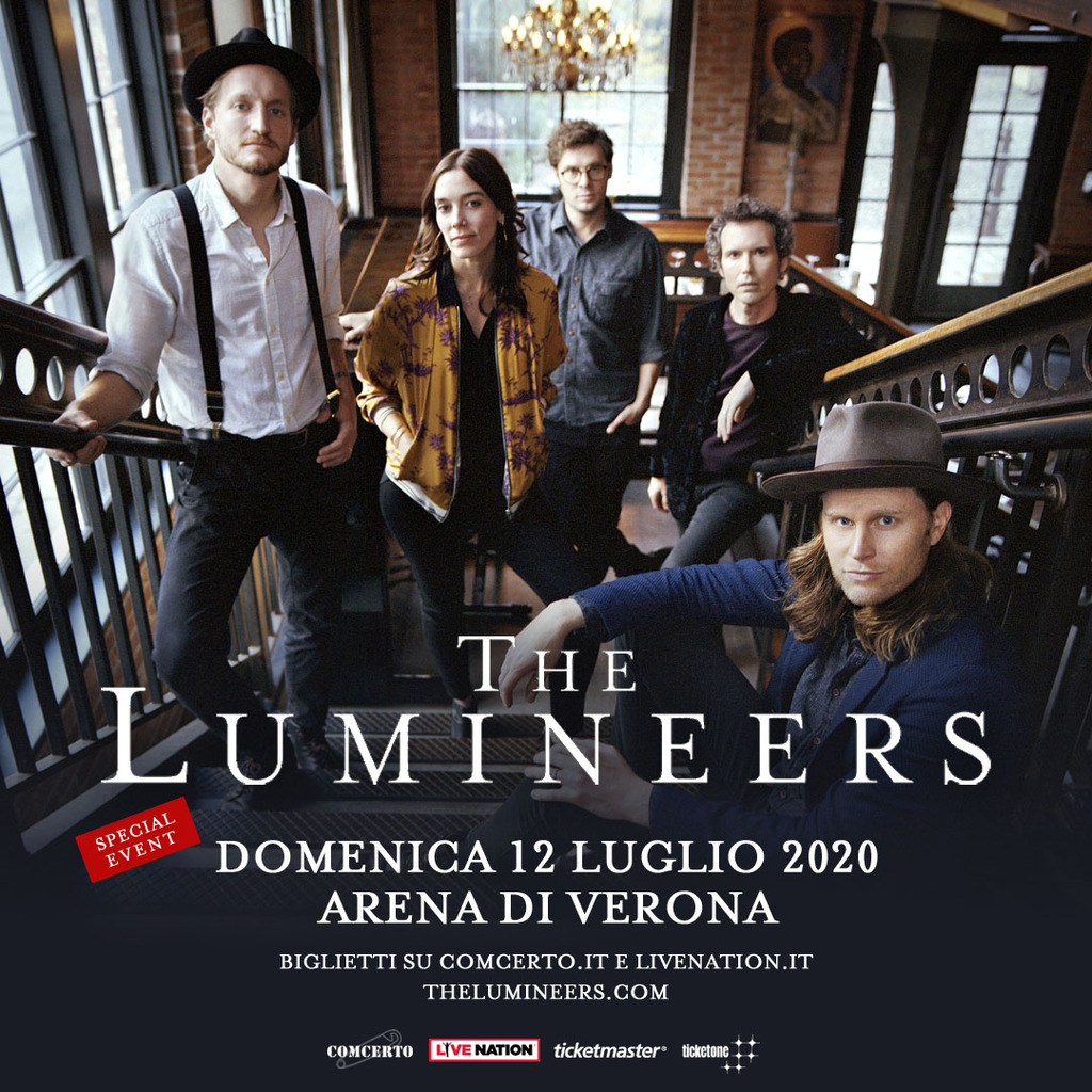 The Lumineers - Live (Biglietti)