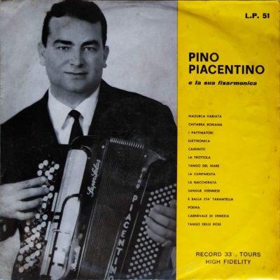 Pino Piacentino - Pino Piacentino e la sua fisarmonica