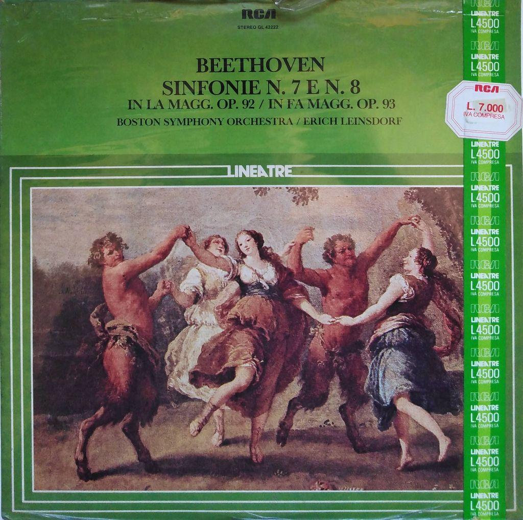 Ludwig Van Beethoven - Sinfonie n. 7 e n. 8
