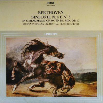 Ludwig Van Beethoven - Sinfonie n. 4 e n. 5 in Si Bem. Op. 60 / In Do Min. Op. 67