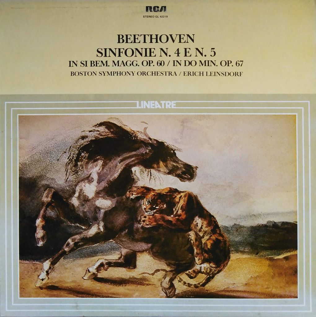 Ludwig Van Beethoven - Sinfonie n. 4 e n. 5 in Si Bem. Op. 60 / In Do Min. Op. 67