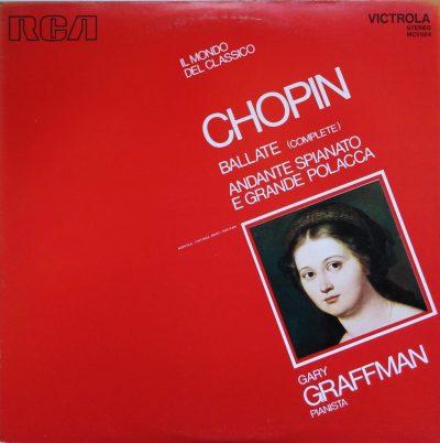 Frederic Chopin - Ballate (complete) - Andante spianato e grande polacca