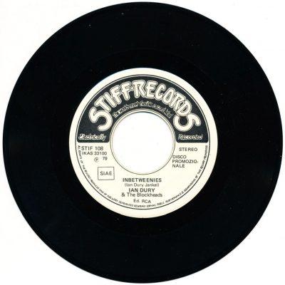 Ian Dury & The Blockheads - Inbetweenies